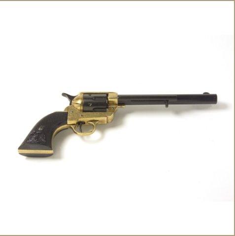 Old West Dual Tone Finish Cavalry Non-Firing Replica Revolver