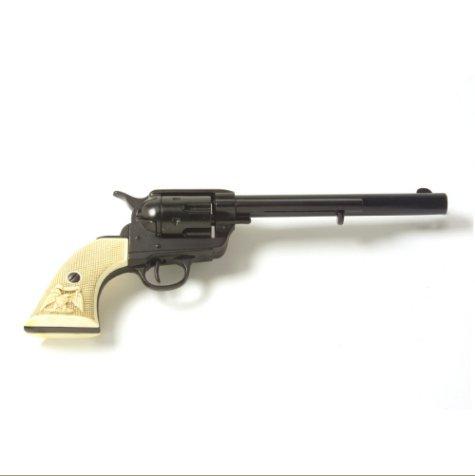 Old West M1873 Black Finish Cavalry Non-Firing Replica Revolver