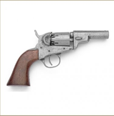 Old West Replica M1849 Grey Finish Pocket Revolver Non-Firing Gun