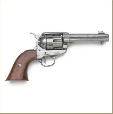 Old West Replica M1873 Antique Finish Quick Draw Revolver Non-Firing Gun