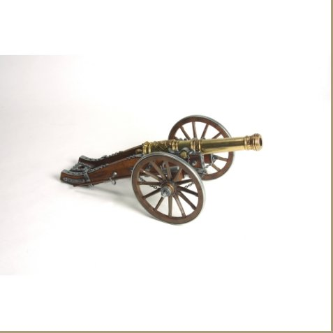 Civil War Miniature Louis Xiv Cannon