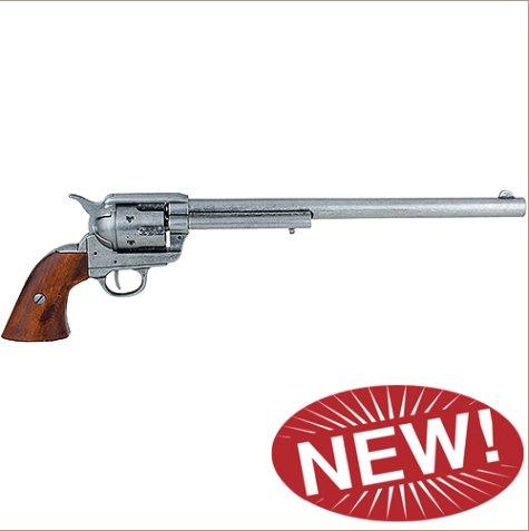 M1873 Single Action Buntline Special Revolver Non-Firing Gun - Grey