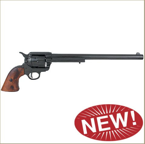 M1873 Single Action Buntline Special Revolver Non-Firing Gun - Black