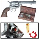 Old West Replica M1873 Army Pistol Gray Finish Cap Pistol