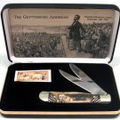 Frost Gettysburg Address Commemorative Trapper