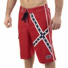 Rebel Flag Medium Board Shorts