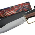 Civil War D-Ring Guard Bowie Knife