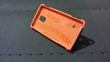 Samsung Galaxy Note 4 red case + screen protector