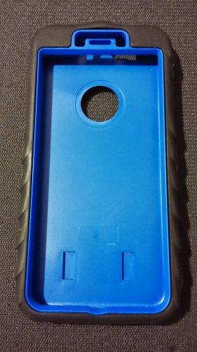 Apple Iphone 6 blue case 3 in 1 heavy duty armor
