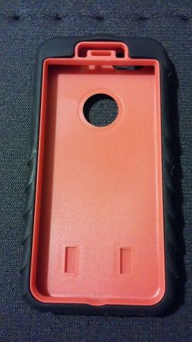 Apple Iphone 6 red case 3 in 1 heavy duty armor