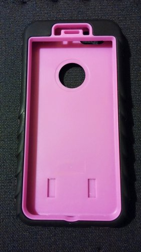 Apple Iphone 6 pink case 3 in 1 heavy duty armor
