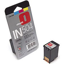 factory sealed OLIVETTI IN504 COLOUR cartridge (BRAND NEW)