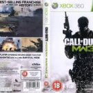 CALL OF DUTY Modern Warfare3 XBOX 360