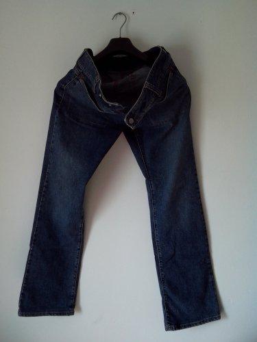 """""""new"""" FASHIONABLY DESIGNED MEN waist SLIMFIT JEANS (MED, BLUE, S'WASH) rrp £49"""