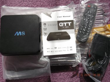PRE-LOADED 4K 8GB RAM FAST PROCESSOR ANDROID BOX of EXCESS PURCHASE AND UNWANTED GIFT SALE LOT 16