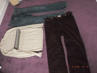 CASUAL CLOTHING ESSENTIALS (very useful) of EXCESS PURCHASE AND UNWANTED GIFT SALE LOT 35