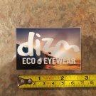 DIZM Eyewear Sticker Decal - Ocean - Surf Sunglasses Goggles Snowboard Skate Eco 1