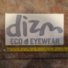 "7"" DIZM Eyewear Sticker Decal Surf Sunglasses Goggles Snowboard Skate Eco 4"