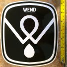 "7"" Wend Wax Sticker Decal Works Bindings Pants Boots Ski Snowboard Iron"