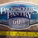 "6"" Backpackers Pantry Sticker Decal Hiking Camping Meals Food Nutrition"