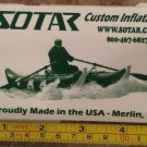 "5"" SOTAR Whitewater Sticker Decal Green Kayak Canoe SUP Surf Whitewater Rafting"