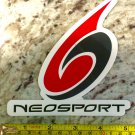 "5"" Neosport Wetsuits Sticker Decal Wakboard Surf Wet Suit SUP Kayak Neo Sport"