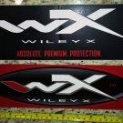 "2 11"" Wiley X Eyewear Stickers Oval Tactical Gear Sticker Decal Navigation Stocks Guns Rifle"