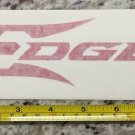"8"" Edge Tactical Eyewear Sticker Red Gear Decal Navigation Stocks Guns Rifle"