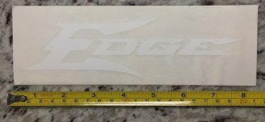 "8"" Edge Tactical Eyewear Sticker White Gear Decal Navigation Stocks Guns Rifle"