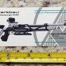 "6"" Feinwerkbau 800X Sticker Decal Tactical AR M4 Firearms Hunting Militia Target"