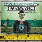Ninkasi Brewing Label Easy Way IPA Shift Beer Brewery Bicycle Colorado