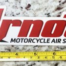 "9"" Arnott Sticker Decal Motorcycle Air Suspension White Auto 4x4 Truck Racing"
