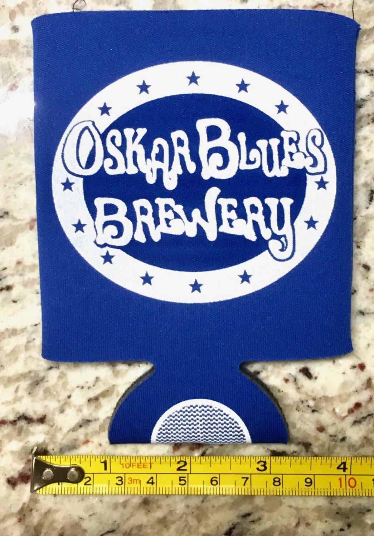 Oskar Blues Brewery Coozie Koozie Dales Pale Ale IPA Colorado Flag Beer Brewing