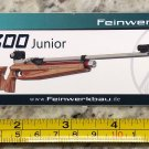 Feinwerkbau 800 Junior 2 Sticker Decal Tactical Firearms Hunting Militia Target
