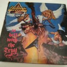 "Vintage original 1986 Stryper ""To hell with the devil"" LP.  Enigma Records"