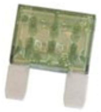 0208095- maxi / max 30 amp fuse green