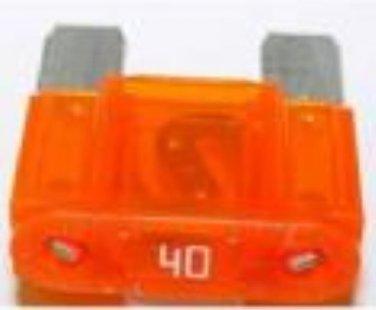 0208096- maxi / max 40 amp fuse orange