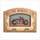 """Wild Ride Motorcycle Club"" Plaque"