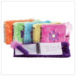 Fun Fuzzy Notebook And Pen Set