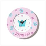 """Princess"" Clock"