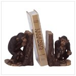 Hide-And-Seek Monkey Bookends