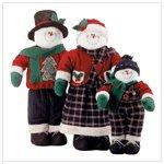 Decorative Snowman Family