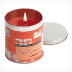 Apple Cinnamon Votive Candle Tin
