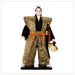Japanese Samurai Warrior Doll