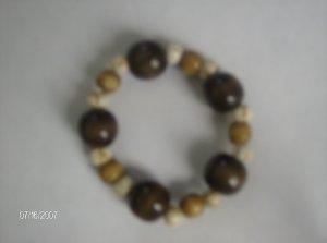 """""""Bubbling Sweet Sugar"""" Wooden Bracelet"""