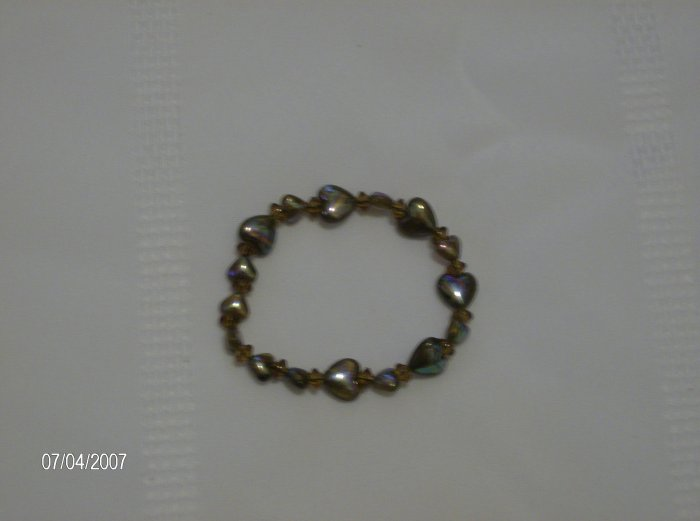 """Full of Love"" Heart Bracelet Simple yet Chic"