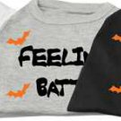 "*NEW* ""Feeling Batty"" Halloween Holiday Pet Shirt"