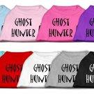 "*NEW* ""Ghost Hunter"" Halloween Holiday Pet Shirt"