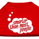 """Smarter Than Most People"" Tank Shirt"