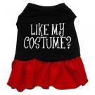 2XL & 3XL Red Bottom LIKE MY COSTUME? Halloween Dog Dress